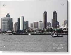 San Diego Skyline 5d24380 Acrylic Print by Wingsdomain Art and Photography