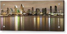 San Diego Skyline Panoramic 2 Acrylic Print