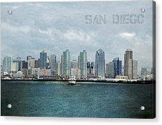 San Diego  Acrylic Print by Sofia Walker