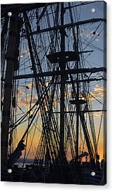 San Diego Sunset Acrylic Print by Marianne Campolongo
