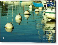 San Diego Waterfront 1.2100 Acrylic Print by Stephen Parker