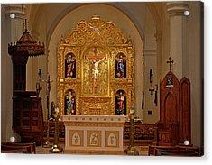 San Fernando Cathedral Retablo Acrylic Print