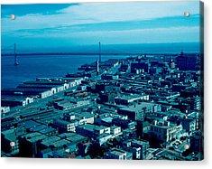 San Francisco 10 1955 Acrylic Print by Cumberland Warden