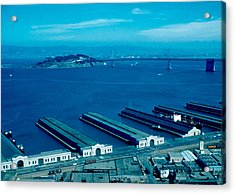 San Francisco 11 1955 Acrylic Print by Cumberland Warden