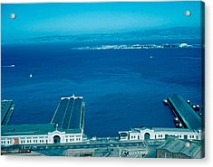 San Francisco 12 1955 Acrylic Print by Cumberland Warden