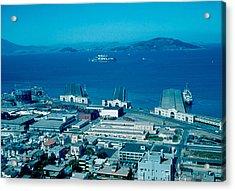 San Francisco 13 1955 Acrylic Print by Cumberland Warden