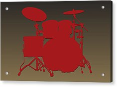 San Francisco 49ers Drum Set Acrylic Print
