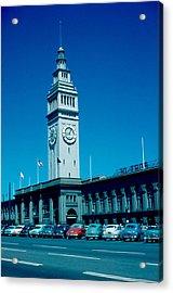 San Francisco 5 1955 Acrylic Print by Cumberland Warden