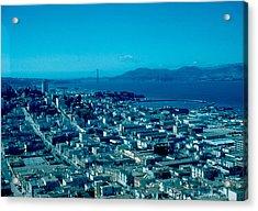 San Francisco 6 1955 Acrylic Print by Cumberland Warden