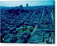 San Francisco 7 1955 Acrylic Print by Cumberland Warden