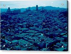 San Francisco 8 1955 Acrylic Print by Cumberland Warden