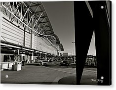 Acrylic Print featuring the photograph San Francisco Airport by Alex King