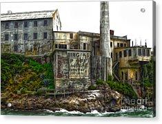 San Francisco - Alcatraz - 04 Acrylic Print by Gregory Dyer