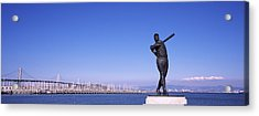 San Francisco Bay, Bay Bridge, San Acrylic Print