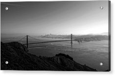San Francisco Bw Acrylic Print