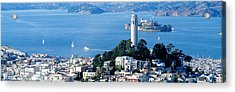 San Francisco Ca Acrylic Print by Panoramic Images