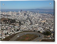 San Francisco California From Twin Peaks 5d28034 Acrylic Print