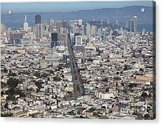 San Francisco California From Twin Peaks 5d28040 Acrylic Print