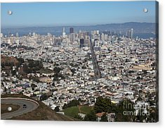 San Francisco California From Twin Peaks 5d28044 Acrylic Print