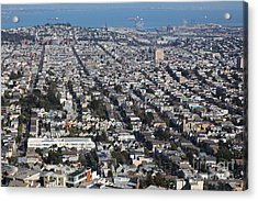 San Francisco California From Twin Peaks 5d28072 Acrylic Print