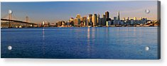 San Francisco, California Skyline Acrylic Print by Panoramic Images