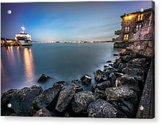 San Francisco Citiyscape From Sausalito United States Acrylic Print