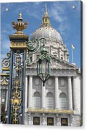 San Francisco City Hall Acrylic Print by Alfred Ng