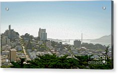 San Francisco - Cityscape - 04 Acrylic Print by Gregory Dyer
