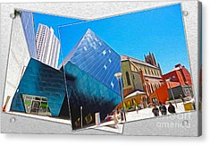 San Francisco - Contemporary Jewish Museum - 01 Acrylic Print by Gregory Dyer