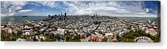 San Francisco Daytime Panoramic Acrylic Print