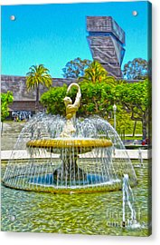 San Francisco - De Young Museum - 01 Acrylic Print by Gregory Dyer