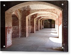 San Francisco Fort Point 5d21545 Acrylic Print by Wingsdomain Art and Photography