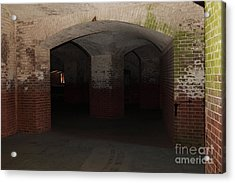 San Francisco Fort Point 5d21548 Acrylic Print by Wingsdomain Art and Photography