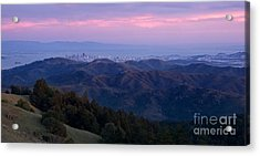 San Francisco From Mount Tam Acrylic Print by Matt Tilghman