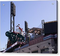 San Francisco Giants World Series Baseball At Att Park Dsc1884 Acrylic Print by Wingsdomain Art and Photography