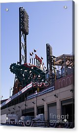 San Francisco Giants World Series Baseball At Att Park Dsc1885 Acrylic Print by Wingsdomain Art and Photography
