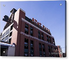 San Francisco Giants World Series Baseball At Att Park Dsc1886 Acrylic Print by Wingsdomain Art and Photography