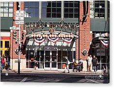San Francisco Giants World Series Baseball At Att Park Dsc1916 Acrylic Print by Wingsdomain Art and Photography