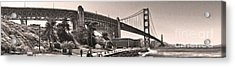 San Francisco - Golden Gate Bridge - 06 Acrylic Print by Gregory Dyer