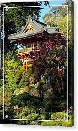 San Francisco Golden Gate Park Japanese Tea Garden 10 Acrylic Print by Robert Santuci