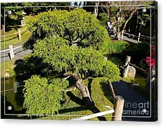 San Francisco Golden Gate Park Japanese Tea Garden 3 Acrylic Print by Robert Santuci