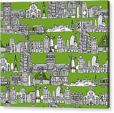San Francisco Green Acrylic Print