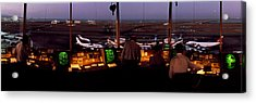 San Francisco Intl Airport Control Acrylic Print by Panoramic Images