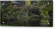 San Francisco Japanese Garden Acrylic Print by Mike Reid