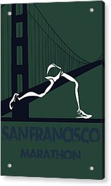 San Francisco Marathon Acrylic Print