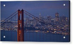 San Francisco Night Acrylic Print