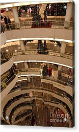 San Francisco Nordstrom Department Store - 5d20642 Acrylic Print by Wingsdomain Art and Photography