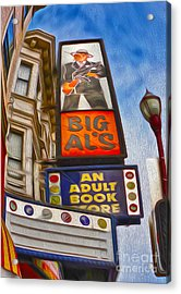 San Francisco - North Beach - 04 Acrylic Print by Gregory Dyer