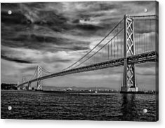 San Francisco - Oakland Bay Bridge Acrylic Print