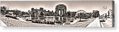 San Francisco - Palace Of Fine Arts - 03 Acrylic Print by Gregory Dyer